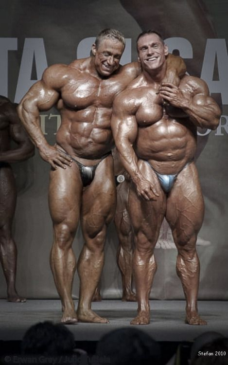 BudsMarkus Ruhl and Paco Bautista | Bodybuilding