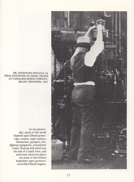 A must read book about the Woodward Company history.  The Woodward Way book is available on Amazon.com.