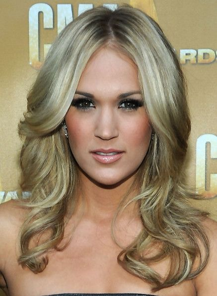 Carrie Underwood Long Curls And Curls On Pinterest