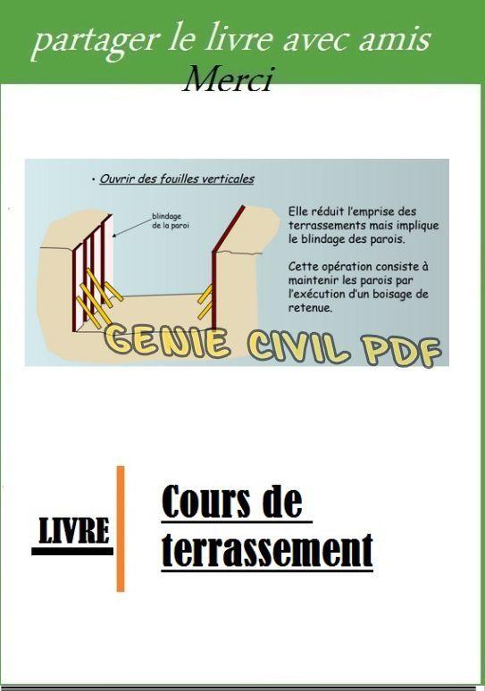 Cours Terrassement Terrassement Cours Genie Civil Chantier
