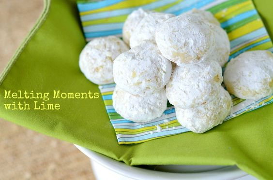 Melting Moments with Lime from @Three Many Cooks