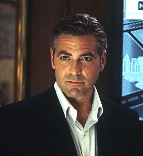 George Clooney reminds me of how Warren Beatty was with women until he met Annette Bening.:
