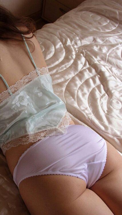 Japanese Nylon Panties 24