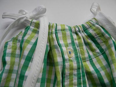 upcycled pillowcase dress form a shirt