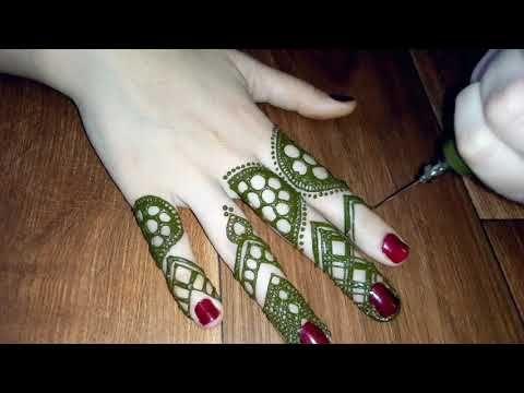 نقش حناء صحراوي 100 راقي وبسيط لليدين Youtube Henna Art Henna Make It Yourself