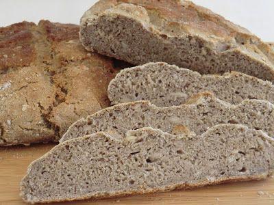 Ma petite cuisine gourmande sans gluten ni lactose: Pain farine de sarrasin-farine de riz sans gluten et sans lactose