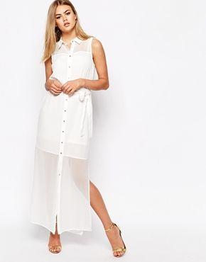 River Island Maxi Shirt Dress