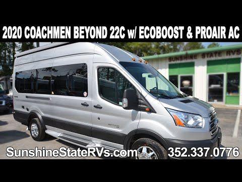 New 2020 Coachmen Beyond Crossfit 22c Class B Rv W Ecoboost Pro Air Ac Youtube Class B Rv Class B Air Ac