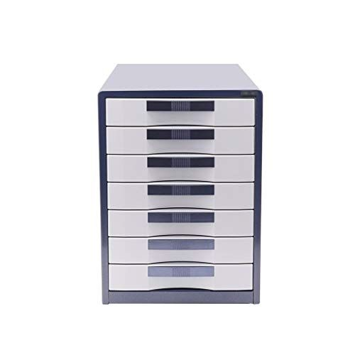 Silver Multi-Layers Drawer Organizer for Household Goods and Office Supplies Aluminum Alloy Bxwjg Flat File Cabinet