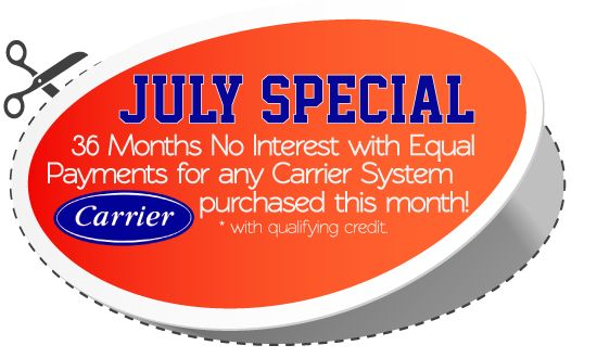 Check out our July Special