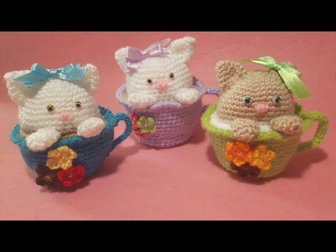 Amigurumi Tutorial Osito : Canal crochet oso panda amigurumi tutorial cute amigurumi bear