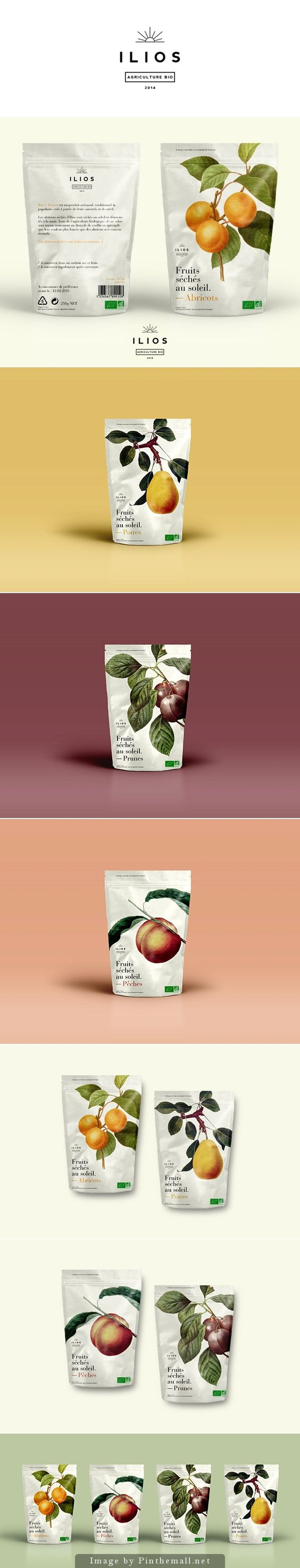 Ilios dried fruits by Dimitris Kostinis #packaging #design: