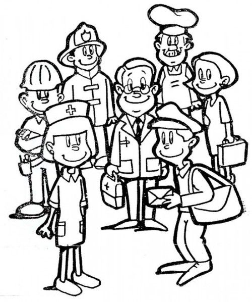 1º De Mayo Dia Del Trabajador Dibujos Carteles Reflexiones Imagenes Para El Dia De Los Trabajadores Art Plan Preschool Worksheets Coloring Pages
