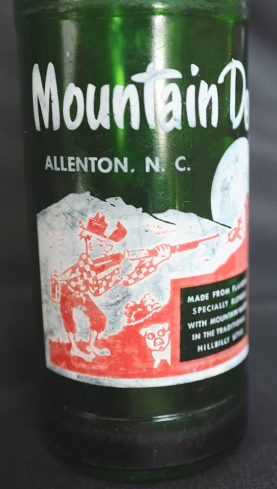 Very Hard To Find Town Name Dew Bottle. Allenton, N.C