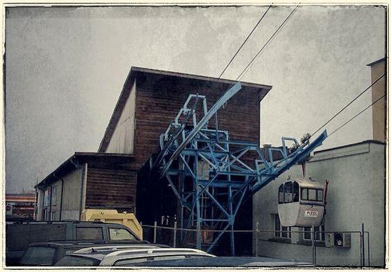 Ehemalige 4-BGD Anlage Bad Ragaz--Pardiel  Die älteste BGD Anlage der Schweiz. Heute 8-MGD von Garaventa.  #RIP #Schweiz #Bell #Ragaz