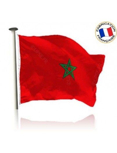 Drapeau Maroc Made In France by Manufêtes