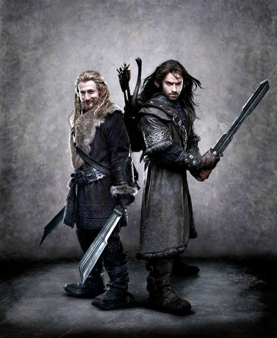 Fili and Kili from the upcoming Hobbit movie. Can't wait!! These two are yummy!!