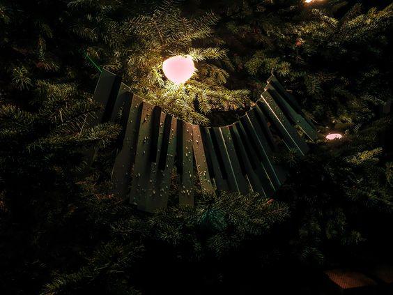 Клавиши на елке