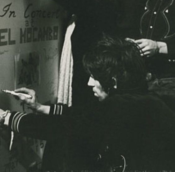 Keith Richards - El Mocambo Club; March 1977