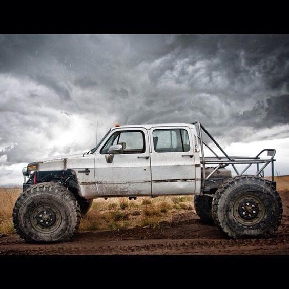 Chevy Rock Crawler : Badass chevy crawler bug out vehicles pinterest