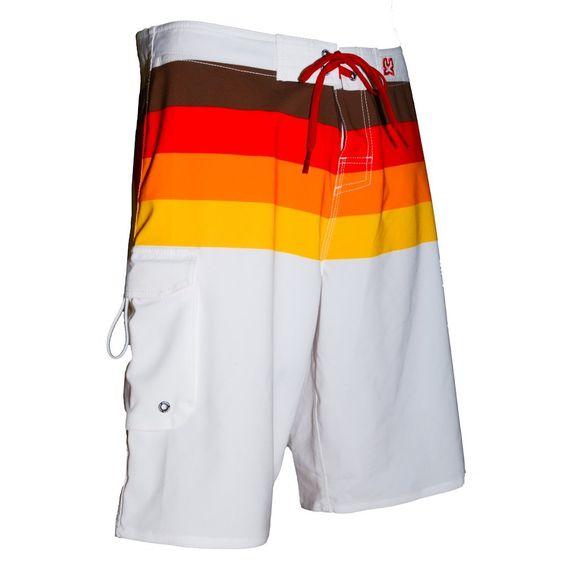 WAXX Swimwear Santa Cruz Men's Boardshorts: Amazon.co.uk: Clothing