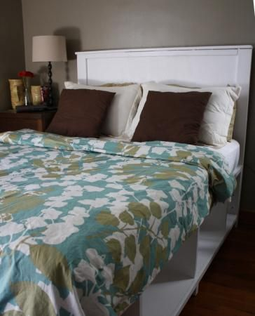 Full Size Hailey Storage Bed   Do It Yourself Home Projects from Ana White