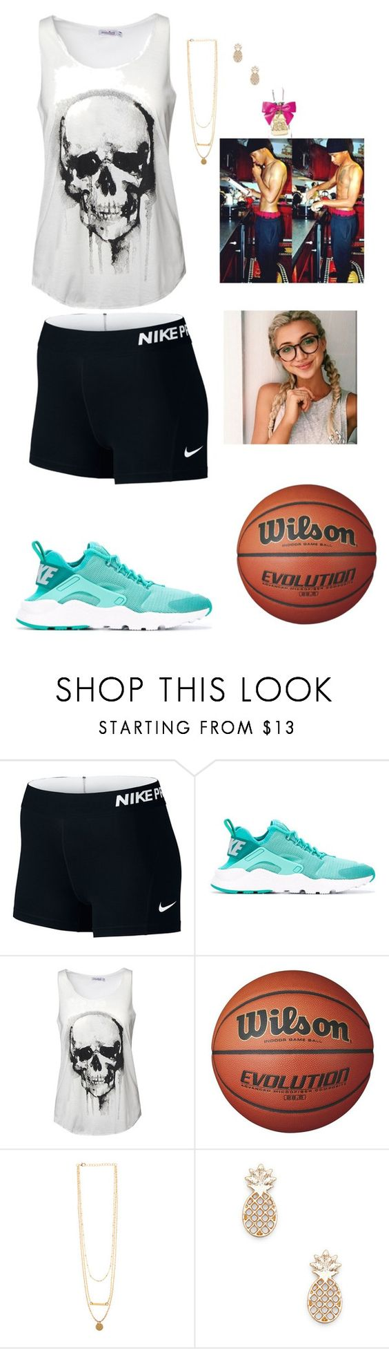 """With him ~ gabby"" by country-and-gods-girl ❤ liked on Polyvore featuring NIKE, Sole Society and Juicy Couture"