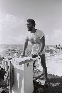 Former divemaster at Small Hope Bay Lodge Andros Island Bahamas 1972. Great old photo!