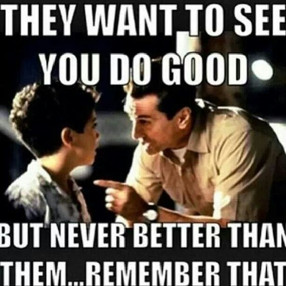 "A Bronx Tale: My all time favorite line, its sad but very true. Not everyone is on ""our team"" sociologically its impossible."