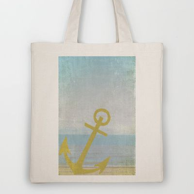 Let's Sail Away Tote Bag by Ally Coxon - $18.00