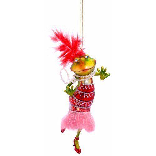 Weihnachtsbaumfrosch, in frohen bunten Farben, Höhe: 15 cm Gift Company http://www.amazon.de/dp/B004ZEAXFO/ref=cm_sw_r_pi_dp_VPQOub1RPQ0TC