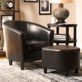 Found it at Wayfair - Club Chair and Ottoman