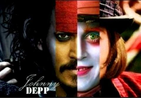 how many movies johnny depp played in