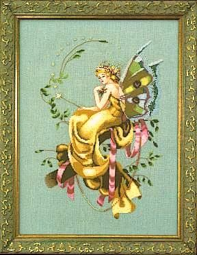 :: Crafty :: Stitch :: Fairies | Mirabilia Designs | Woodland Fairy