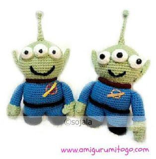 Amigurumi To Go: Alien LGM Free Crochet Pattern