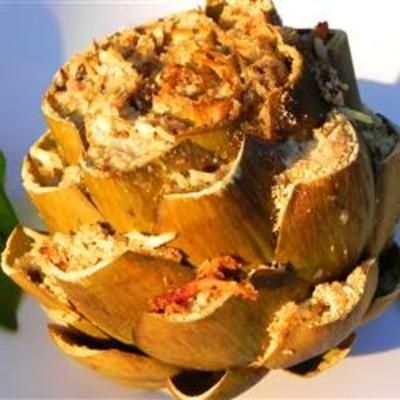#recipe #food #cooking Stuffed Artichokes