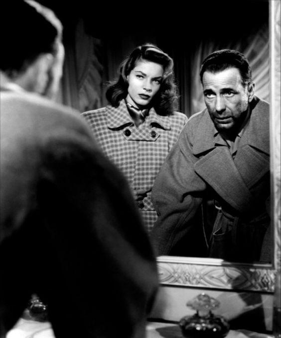 Humphrey Bogart and Lauren Bacall in Dark Passage (1947):