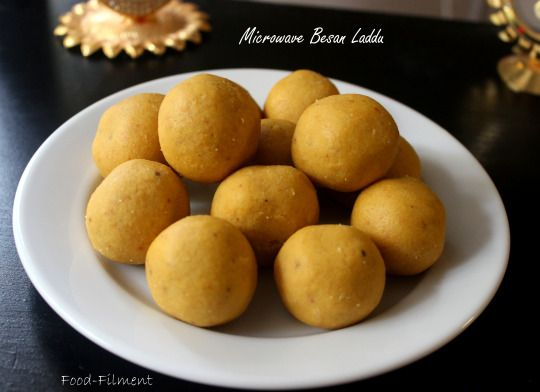 Microwave Besan Laddu #indiansweets #foodfilment #quickdessert #sweettooth