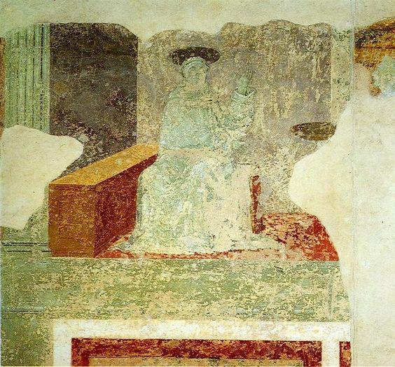 'Affreschi San Miniato al Monte', huile de Paolo Uccello (1397-1475, Italy)