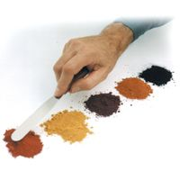 IRONOXX™ INTEGRAL CONCRETE COLOR  Synthetic iron oxide pigmented concrete coloring  Available in 10 and 25 lb. bags, which can be added directly into the concrete mix  Variations in the mix design, mixing time, and curing conditions, will affect the final color