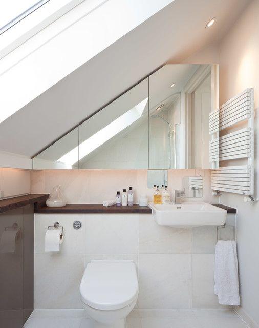 Pin Von Olivia Upegui Auf Arquitectura Badezimmer Dachschrage