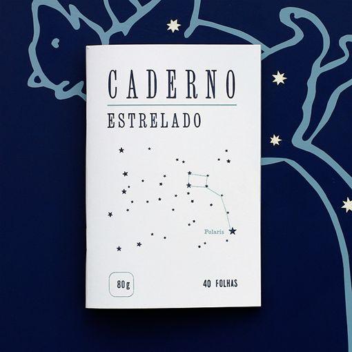 Caderno Estrelado, da Serrote http://casaruim.com/produto/caderno-estrelado/