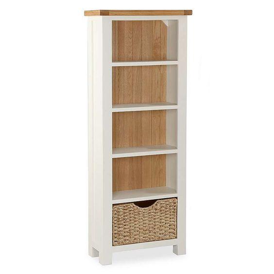 Wilby Slim Bookcase | Dunelm