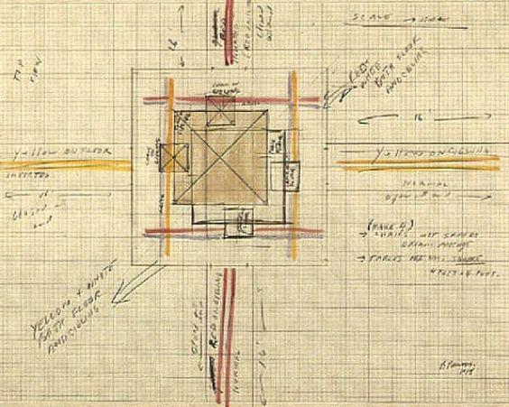 Bruce Nauman, Dream passage with 4 corridors, for Venice