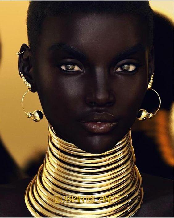 Beautiful Black Women African Queens: Nubian Queens - True African Works Of Art