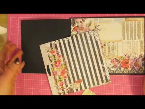 this is part 1 of my basic mini album process. this video shows how to build the shell of the mini album.