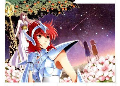Chimaki Kuori lanzó un manga spin-off de Saint Seiya, llamado Saint Seiya: Saintia Shō en la revista Champion RED de la editorial Akita Shounen
