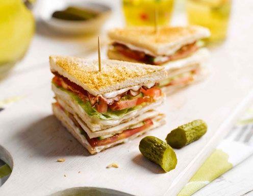 VIP Club Sandwich Rezept
