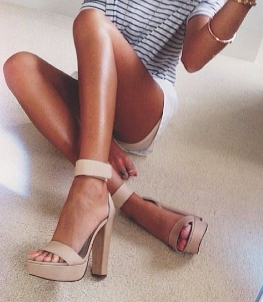 Nude Windsor Smith heels http://www.windsorsmith.com.au/malibu