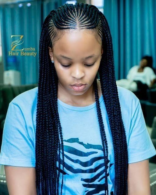 Stunningly Cute Ghanaian Braids Styles In 2020 African Hair Braiding Styles Braided Hairstyles Cool Braid Hairstyles